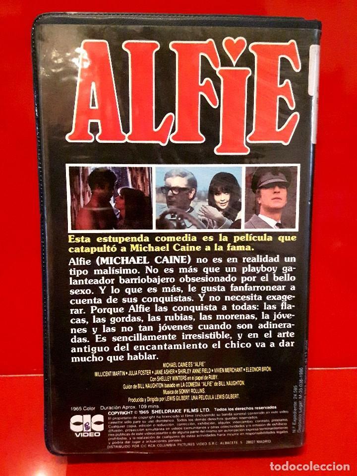 Cine: ALFIE (1966) - MICHAEL CAINE. LA GENUINA EN 1ª Edic. UNICA EN TC - Foto 3 - 98883694
