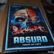 Cine: VHS ABSURD. Lote 76614419