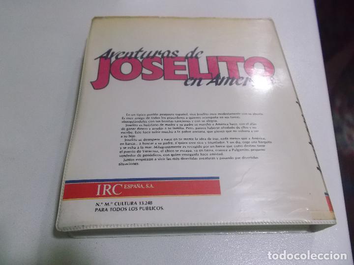 Cine: JOSELITO EN AMERICA VHS ESTUCHE XL GRANDE IRC ESPAÑA - Foto 2 - 77128805