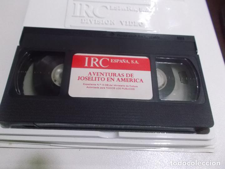 Cine: JOSELITO EN AMERICA VHS ESTUCHE XL GRANDE IRC ESPAÑA - Foto 5 - 77128805