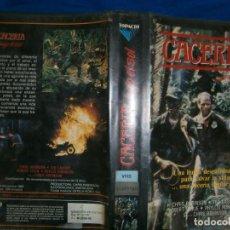 Cine: ((PELICULA-VHS))-CACERIA. Lote 77364673
