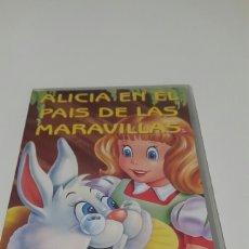 Cine: VHS. ALICIA EN EL PAÍS DE LAS MARAVILLAS.. Lote 77555531