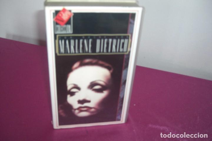 Cine: VHS UNA NOCHE CON MARLENE DIETRICH VHS - Foto 3 - 77798097