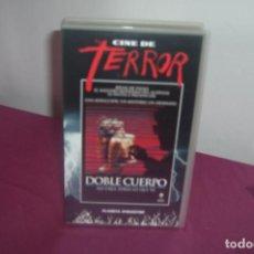 Cine: CINE DE TERROR DOBLE CUERPO NO CREA TODO LO QUE VE PELICULA DE TERROR VHS. Lote 77870037