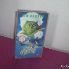 Cine: VHS VHS EL GRINCH JIM CARREY PELICULA . Lote 77875377
