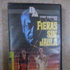 Cine: FIERAS SIN JAULA - VHS - TERROR. Lote 100552400