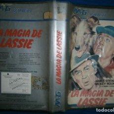 Cine: LA MAGIA DE LASSIE-(PELICULA VHS). Lote 78169197