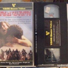 Cine: PISTOLAS CALIENTES - DAVID FLEATWOOD - BARBARA BOURDON , DICK DEL GUARDO - VISOR 1984. Lote 129037244