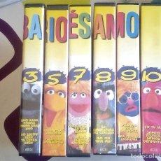 Cine: BARRIO SESAMO - COLECCIÓN DE CINTAS VHS - TVE. Lote 79984229