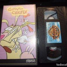 Cine: COW AND CHICKEN VACA Y POLLO - VACA ESPACIAL - CARTOON NETWORK 2001. Lote 80220097