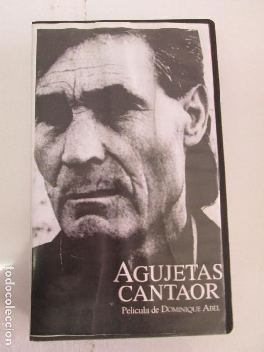 Cine: AGUJETAS CANTAOR. PELICULA DE DOMINIQUE ABEL. CINTA VHS. VER FOTOGRAFIAS ADJUNTAS - Foto 6 - 80516961