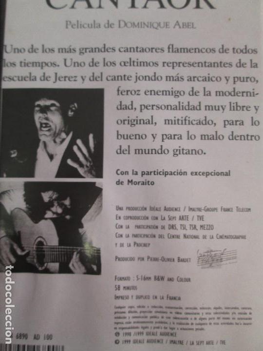Cine: AGUJETAS CANTAOR. PELICULA DE DOMINIQUE ABEL. CINTA VHS. VER FOTOGRAFIAS ADJUNTAS - Foto 10 - 80516961