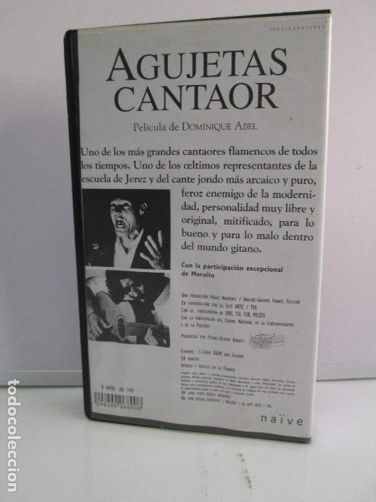 Cine: AGUJETAS CANTAOR. PELICULA DE DOMINIQUE ABEL. CINTA VHS. VER FOTOGRAFIAS ADJUNTAS - Foto 11 - 80516961