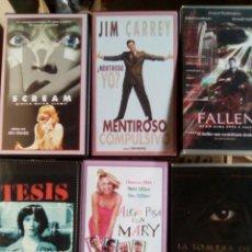 Cine: LOTE 3 SEIS PELÍCULAS VHS. Lote 80727960