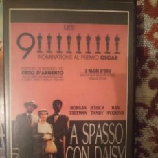Cine: VHS PELICULA EN ITALIANO - A SPASSO CON DAISY. Lote 80781666