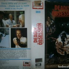 Cine: ((PELICULA-VHS))-DEADLY OBSESION. Lote 80889111