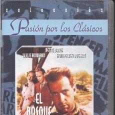 Cine: BETTE DAVIS, LESLIE HOWARD Y HUMPHREY BOGART: EL BOSQUE PETRIFICADO. Lote 81012456