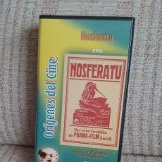 Cine: VHS - PELICULA NOSFERATU 1922. Lote 81189024