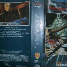 Cine: ((PELICULA-VHS))-VIERNES 13. Lote 103656776