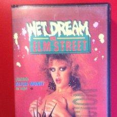 Cine: WET DREAM ON ELM STREET (VHS/PAL)CASTELLANO. Lote 81942732