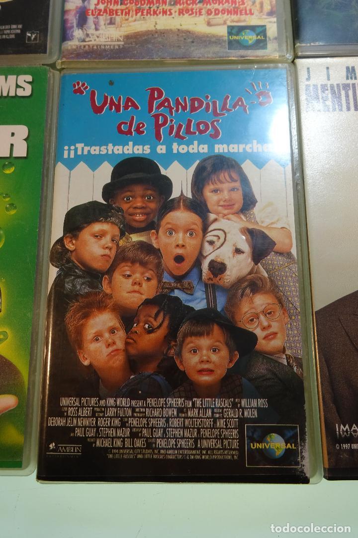 Cine: LOTE DE 12 PELÍCULAS VHS - PARA TODOS LOS PÚBLICOS - MUY DIVERTIDAS PARA LOS PEQUES - - Foto 3 - 81985944