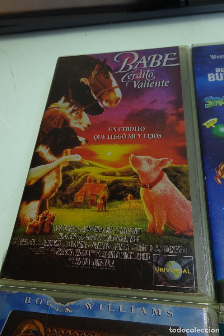 Cine: LOTE DE 12 PELÍCULAS VHS - PARA TODOS LOS PÚBLICOS - MUY DIVERTIDAS PARA LOS PEQUES - - Foto 13 - 81985944