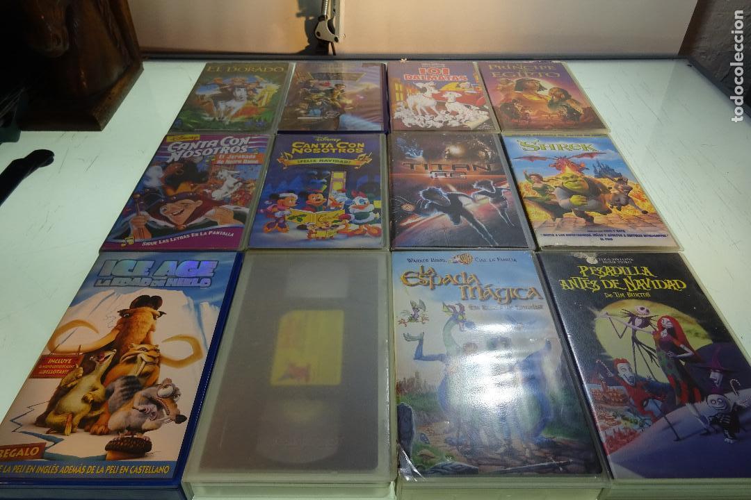 LOTE DE 12 PELÍCULAS VHS - PARA TODOS LOS PÚBLICOS - MUY DIVERTIDAS PARA LOS PEQUES - (Cine - Películas - VHS)