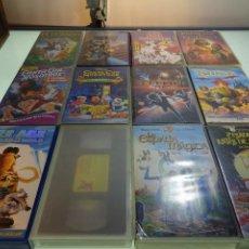 Cine: LOTE DE 12 PELÍCULAS VHS - PARA TODOS LOS PÚBLICOS - MUY DIVERTIDAS PARA LOS PEQUES - . Lote 81986224