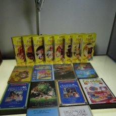 Cine: GRAN LOTE DE 13 PELÍCULAS VHS - CINE INFANTIL - MUY DIVERTIDAS PARA LOS PEQUES - LOTE 10 -. Lote 81987812