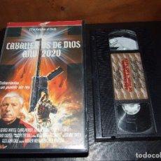 Cine: LOS CABALLEROS DE DIOS AÑO 2020 - ANDREW MORGAN - GEORGE WINTER , CLAIRE PARKER - MASTERTRONIC 1988. Lote 82017852