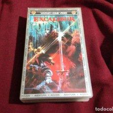 Cine: EXCALIBUR VHS. Lote 82452476