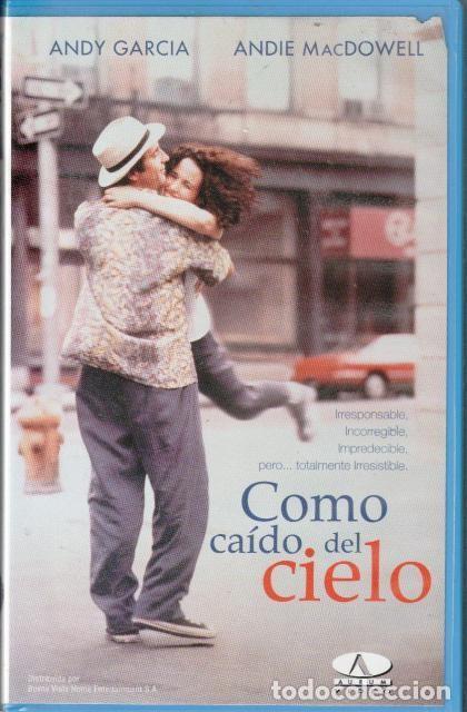VHS, COMO CAÍDO DEL CIELO, CAJA GRANDE (Cine - Películas - VHS)