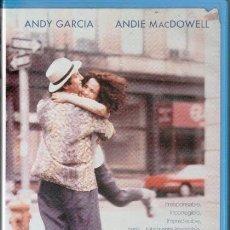 Cine: VHS, COMO CAÍDO DEL CIELO, CAJA GRANDE. Lote 82713544