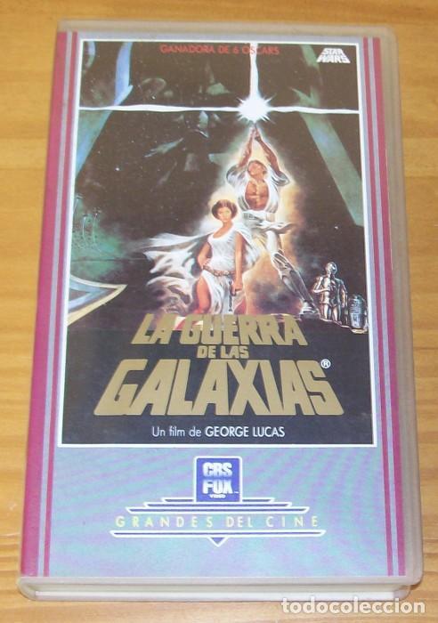 LA GUERRA DE LAS GALAXIAS -VHS- GEORGE LUCAS, STAR WARS, MARK HAMILL, HARRISON FORD, CARRIE FISHER.. (Cine - Películas - VHS)