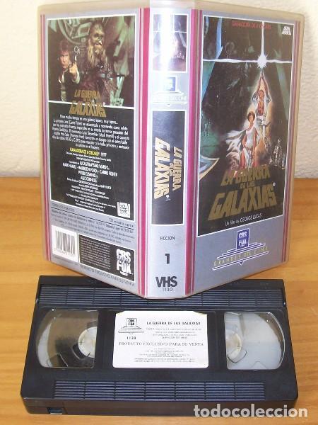 Cine: LA GUERRA DE LAS GALAXIAS -VHS- GEORGE LUCAS, STAR WARS, MARK HAMILL, HARRISON FORD, CARRIE FISHER.. - Foto 2 - 82912540
