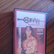 Cine: CONAN EL DESTRUCTOR. VHS EN BUEN ESTADO. SIN TESTAR. Lote 83150380