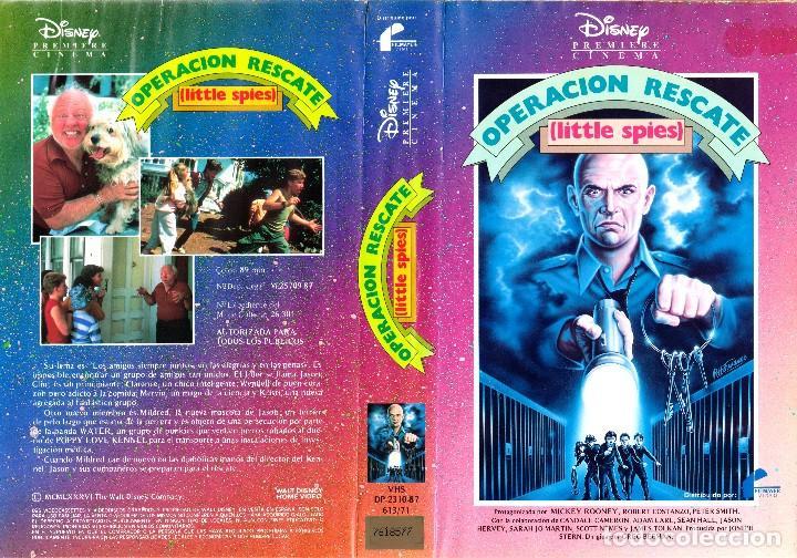 VHS - OPERACION RESCATE - MICKEY ROONEY, ROBERT COSTANZO - AVENTURA JUVENIL - WALT DISNEY (Cine - Películas - VHS)