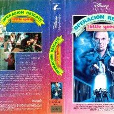 Cine: VHS - OPERACION RESCATE - MICKEY ROONEY, ROBERT COSTANZO - AVENTURA JUVENIL - WALT DISNEY. Lote 83172796