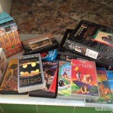Cine: LOTE DE 25 CINTAS VHS ORIGINALES. Lote 83296920