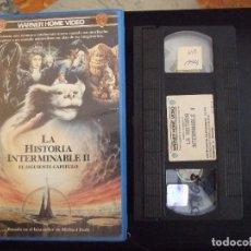 Cine: LA HISTORIA INTERMINABLE 2 II - GEORGE MILLER - JONATHAN BRANDIS , KENNY MORRISON - WARNER 1990. Lote 179169801