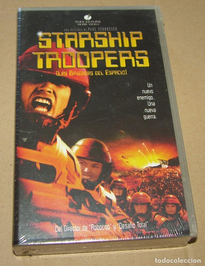 STARSHIP TROOPERS - TOUCHSTONE HOME VIDEO (Cine - Películas - VHS)