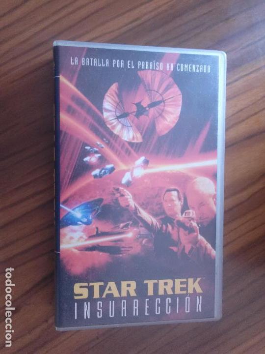 STAR TREK. INSURRECCION. BUEN ESTADO. NO TESTADA. (Cine - Películas - VHS)