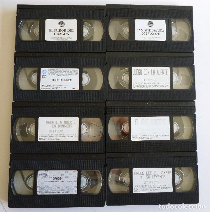 Cine: 8 PELICULAS VHS ARTES MARCIALES 7 PELICULAS BRUCE LEE Y UNA PELICULA JACKIE CHAN - Foto 5 - 83829700
