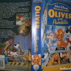 Cine: ((PELICULA-VHS))-OLIVER Y SU PANDILLA. Lote 83919344