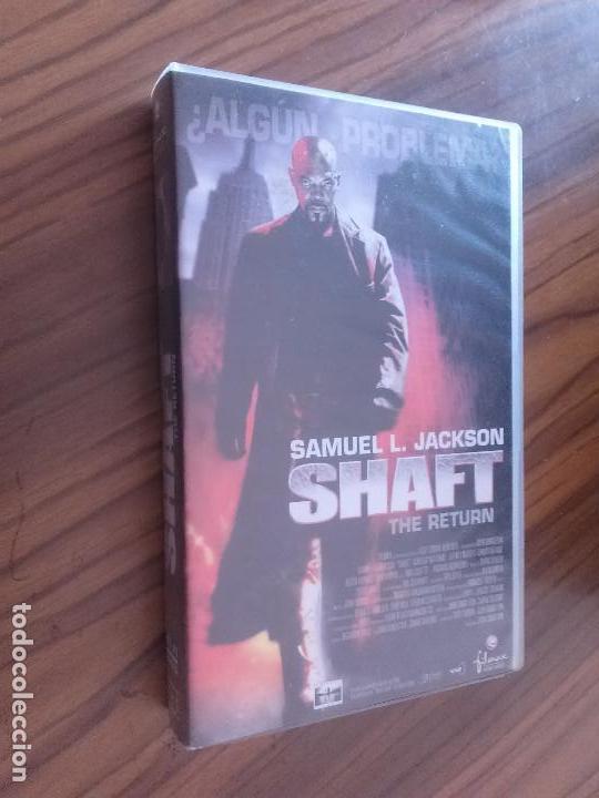 SHAFT. SAMUEL L. JACKSON. VHS EN BUEN ESTADO. SIN TESTAR. (Cine - Películas - VHS)