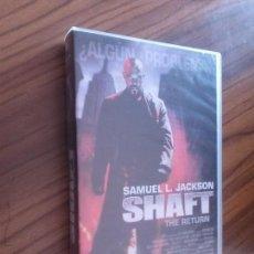 Cine: SHAFT. SAMUEL L. JACKSON. VHS EN BUEN ESTADO. SIN TESTAR. . Lote 83922012