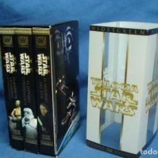Cine: TRILOGIA STAR WARS - LUCASFILM - SIN USO - FORMATO VHS. Lote 84036768