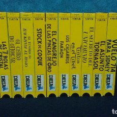 Cine: TINTIN 11 PELICULAS VHS. Lote 84068052
