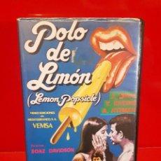 Cine: POLO DE LIMÓN (1978) - LEMON POPSICLE. BOAZ DAVIDSON- RAREZA UNICA EN TC. Lote 84383032