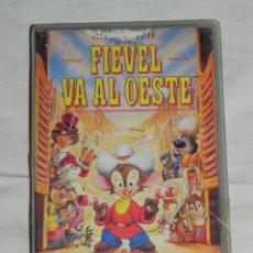 Cine: VENDO PELICULA VHS, FIEVEL VA AL OESTE.. Lote 263093725